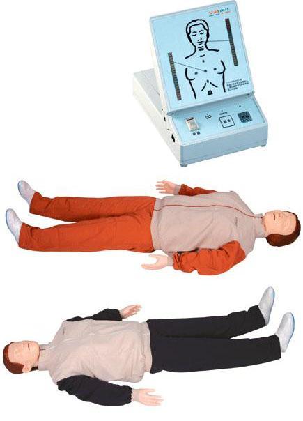 高级心肺复苏训练模拟人(全身/半身)GD/CPR200S在第五代GD/CPR200的基础上进行升级,其核心模块包括模拟人和心肺复苏显示屏。