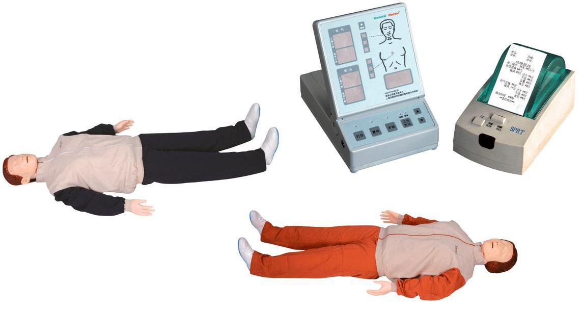心肺叩诊电脑模型,医用假人,训练模型人