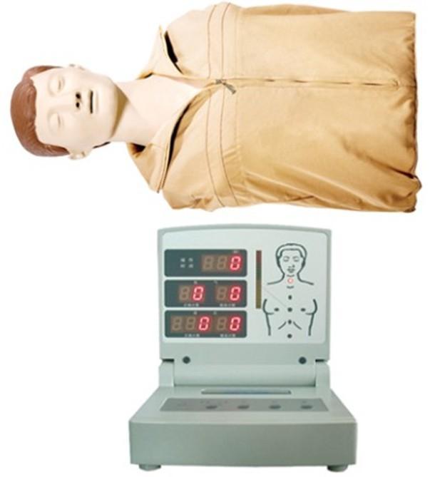 半身电脑心肺复苏模拟人执行标准:美国心脏学会(AHA)2010国际心肺复苏(CPR)&心血管急救(ECC)指南标准。