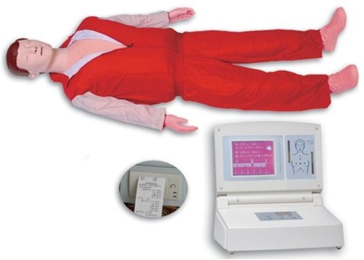 大屏幕液晶彩显高级电脑心肺复苏模拟人JY/CPR680-上海佳悦公司,专业医学模型生产厂家