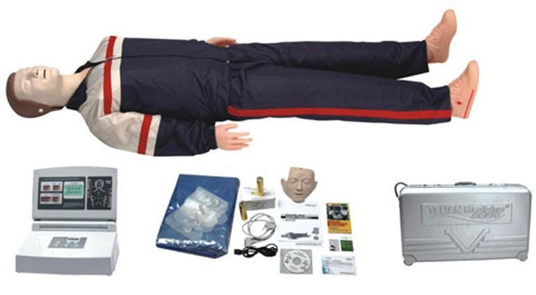 高级中屏幕液晶自动电脑心肺复苏模拟人-找上海佳悦公司,专业医学模型生产厂家