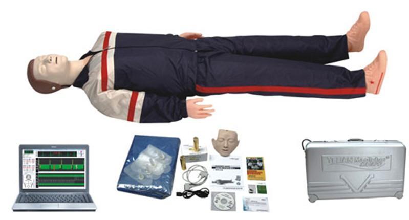 电脑高级心肺复苏模拟人(计算机控制)JY/CPR950-佳悦公司,专业医学模型生产厂家