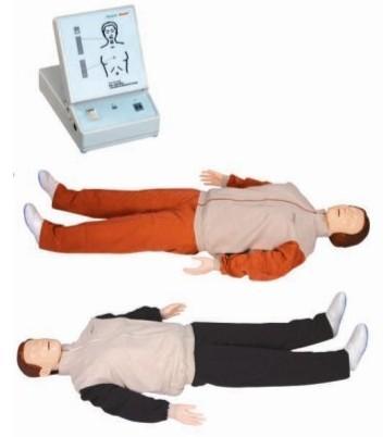 高级心肺复苏训练模拟人该产品在第六代GD/CPR180的基础上进行升级,其核心模块包括模拟人和心肺复苏显示屏。