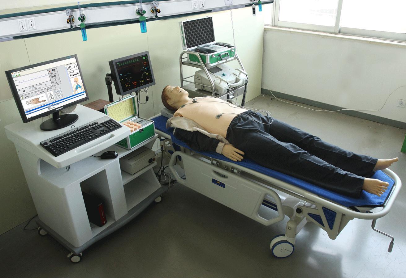 高智能数字化综合急救技能训练系统(ACLS高级生命支持、计算机控制)GD/ACLS8000A