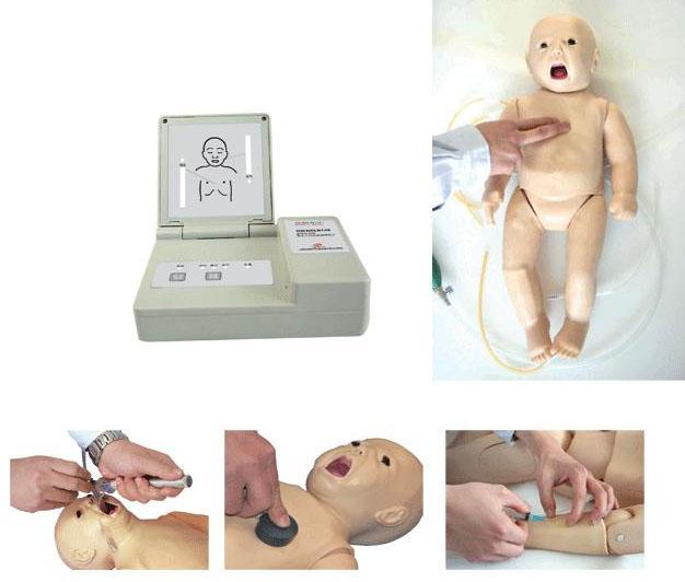 高级多功能新生儿综合急救训练模拟人(ACLS高级生命支持、嵌入式系统)GD/ACLS145