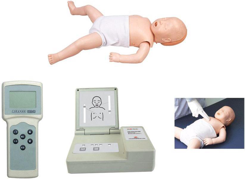 高级多功能婴儿综合急救训练模拟人