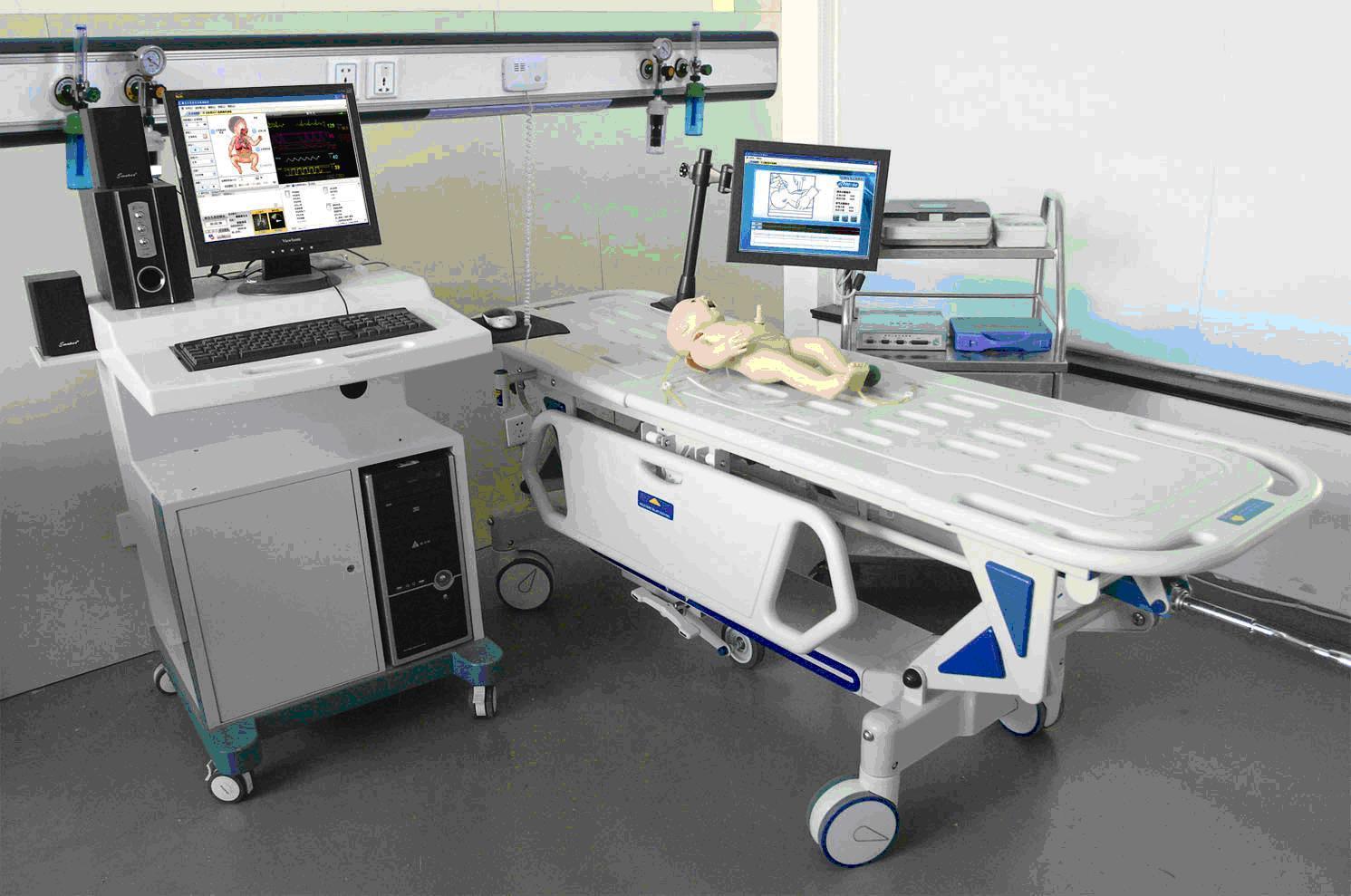 高智能数字化新生儿综合急救技能训练系统